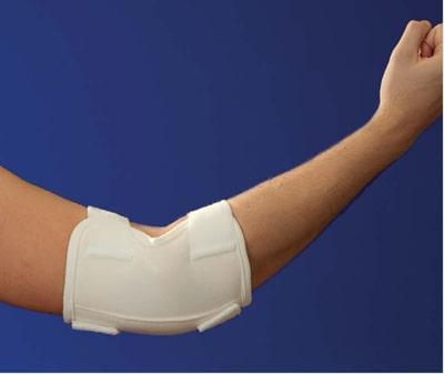 Beispielprodukt aus der statischen Magnetfeldtherapie: Magnoflex Ellenbogenbandage