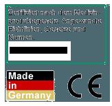 Zertifikat Medizinproduktgesetz RL 93/42 EWG u. RL 2003/32 EG
